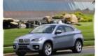 Вид спереди автомобиля BMW X6