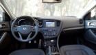вид водительского и пассажирского места Киа Оптима