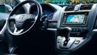 Интерьер водительского места и мультимедийная система Honda CR-V