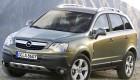 вид на Opel Antara спереди и сбоку