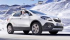 Opel Mokka  в заснеженных горах