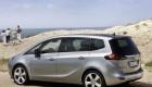 Вид на автомобиль Opel Zafira сзади