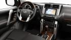 водительское место Toyota Land Cruiser Prado - все на своих местах