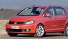 Volkswagen  Golf Plus в красном цвете