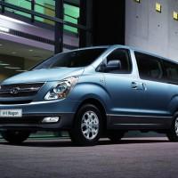 Высокий клиренс и много места в салоне Hyundai H1