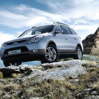 Hyundai iX55 на бездорожье