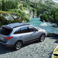 Hyundai iX55  на озере