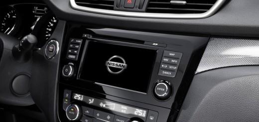 Салон автомобиля Nissan X-Trail 2014 года