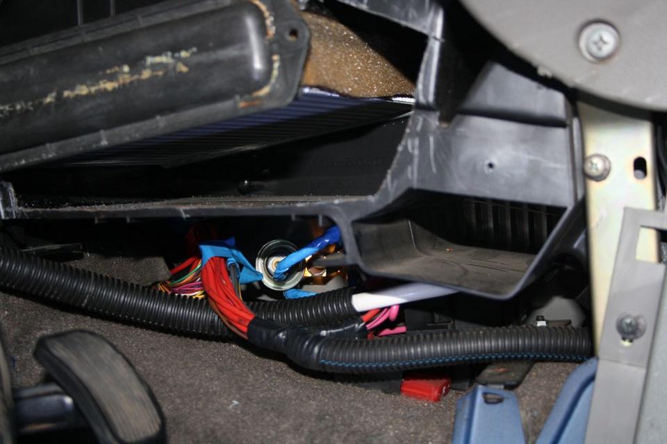 демонтаж радиатора на фольксваген поло седан