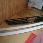 старая и новая решетка радиатора
