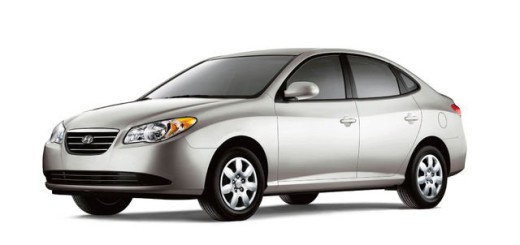 Серый Hyundai Elantra