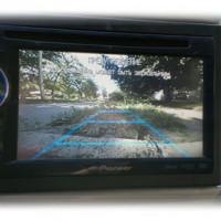 Показания камеры на экране мегнитолы