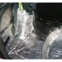 багажник и шумоизоляция левой арки Лада Гранта
