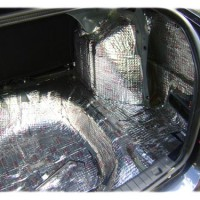 багажник плюс шумоизоляция Арок на автомобиле Лада Гранта