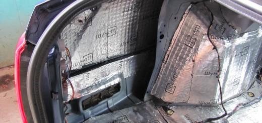 Вид багажника Лады Гранты