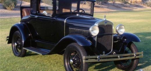 Форд А - самый распространенный автомобиль такси за всю историю