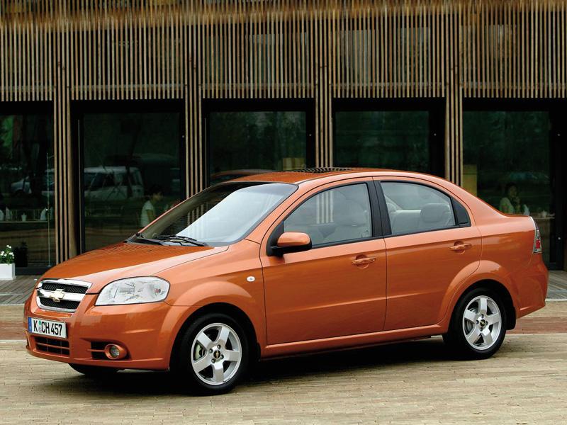 Chevrolet Aveo 2006 модельного года имел плохие результаты краш-тестов