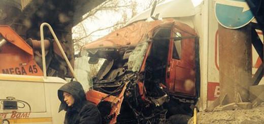 Сильная авария произошла в Воронеже