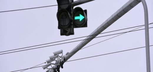 Ненастроенный светофор на пересечении Плехановской и Кольцовской