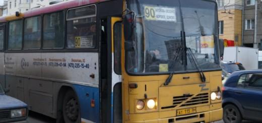 Городской маршрут номер 90