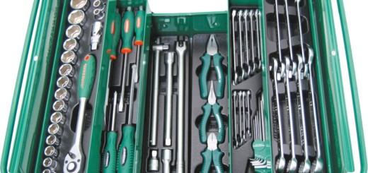 большой набор инструментов Jonnesway