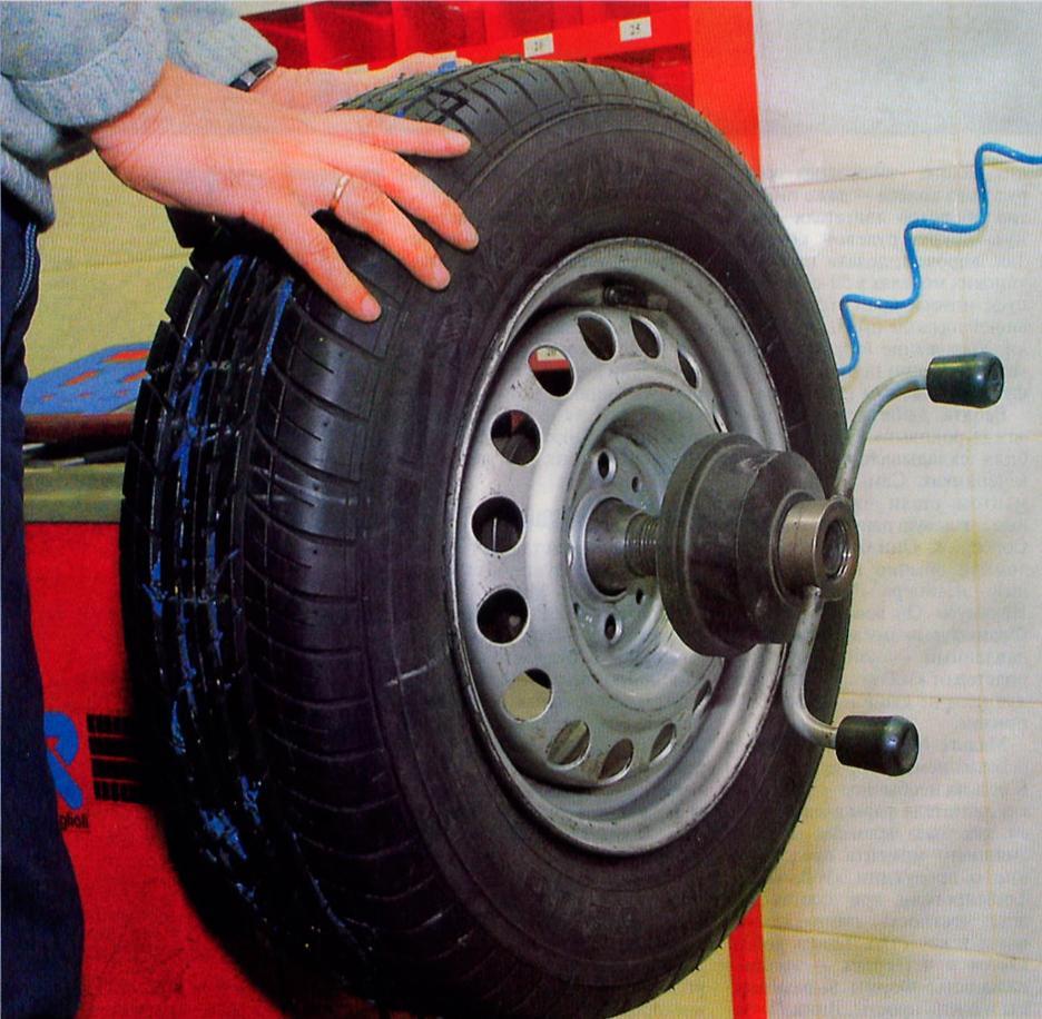 Балансировка колес своими руками