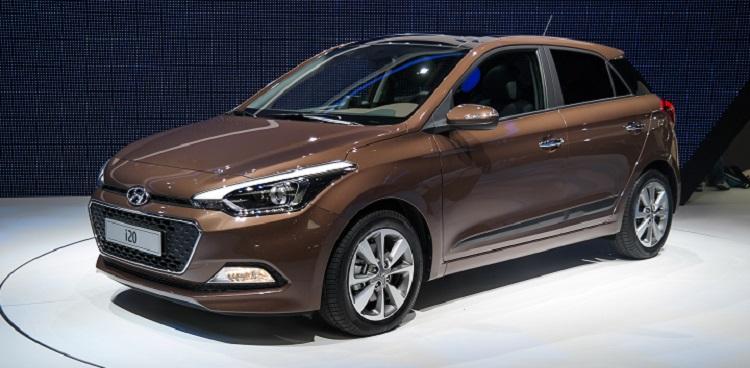 Концепт-кар Hyundai i20, 2016 модельный год