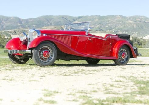 Mercedes-Benz 500K 1934 г.в.