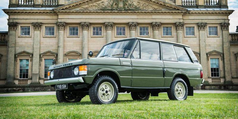 Бренд Land Rover, модель Range Rover Classic