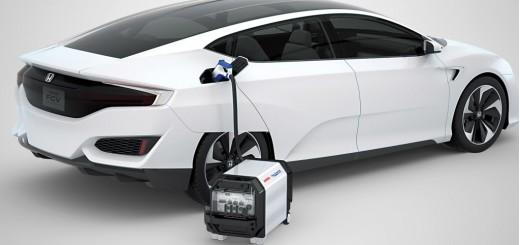 Honda FCV, водородный автомобиль