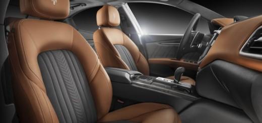 Интерьер, разработанный Ermenegildo Zegna для бренда Maserati