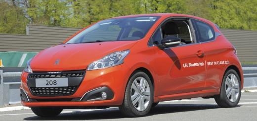 Peugeot 208 2015-го модельного года