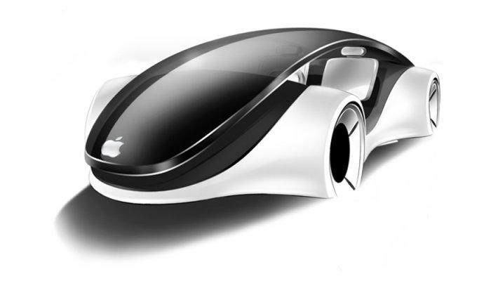 Проект автомобиля Apple, США, 2015 год