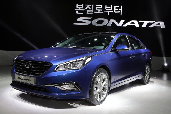 Hyundai Sonata 2015-го модельного года