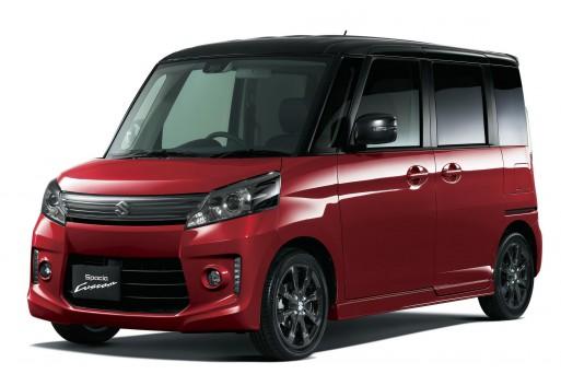 Suzuki Spacia, микроавтобус кей-класса
