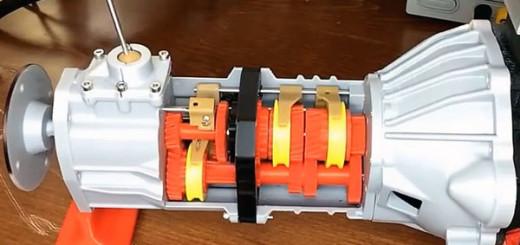 5-МКПП Toyota, печать 3D