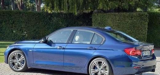 Седан BMW 3 в обновлённом варианте
