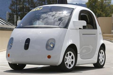Предсерийный экземпляр автомобиля Google