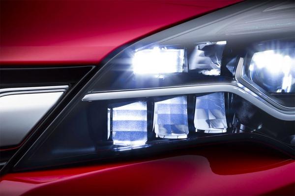 Конструкция фар IntelliLux, Opel Astra 2016