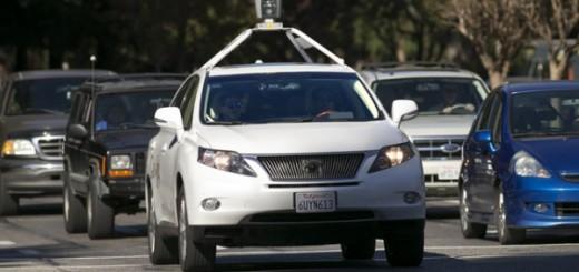 Беспилотный Lexus фирмы Google