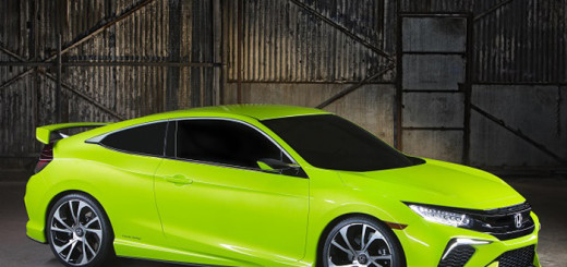 Концепт Civic Coupe 2015 года