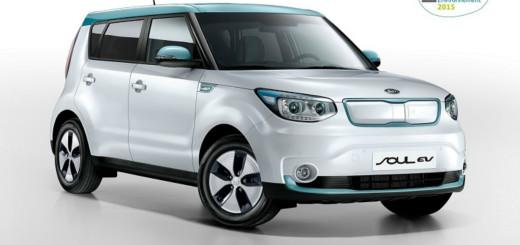 Kia Soul EV, первый электромобиль Kia Motors