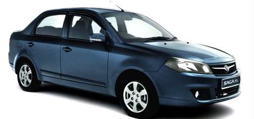 Proton Saga, кузов-седан