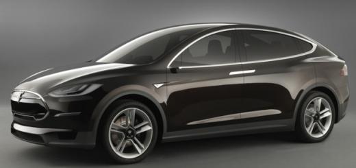 Tesla Model X, 2016-й модельный год