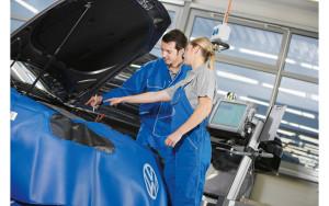 Специалисты Volkswagen