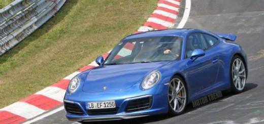 Porsche 911 2016-го года
