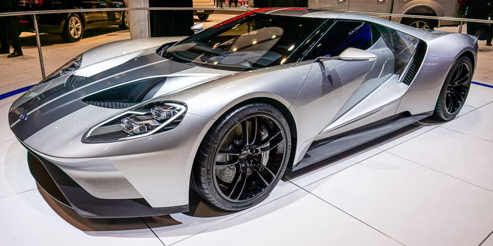 Ford GT, 2015 год
