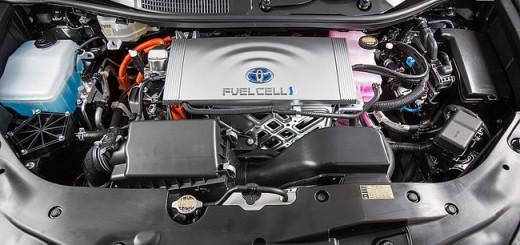 Водородный двигатель Toyota
