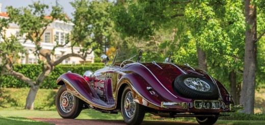 540K Spezial Roadster-1936, бренд Mercedes-Benz