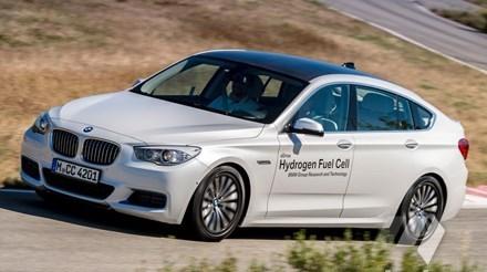 BMW 5 GT с водородным топливом